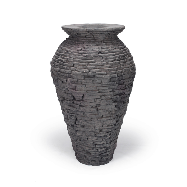 Aquascape Medium Stacked Slate Urn