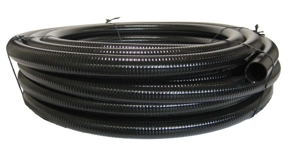 Black flexible PVC 1/2