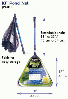 Laguna Collapsible Pond Net coarse mesh 18