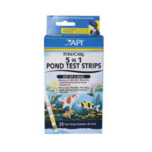 PondCare 5-in-1 Test strips  #164F