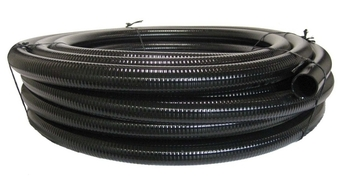 Black flexible PVC 3/4