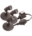 Aquascape Pond and Landscape Light Kit (3 - 1 watt LED lights, trans, photocell)