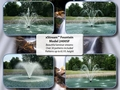 Kasco 1/2HP XStream floating fountain, 50' cord, includes over 30 patterns