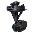 Oase, 1/4 HP Floating Fountain w/Lights